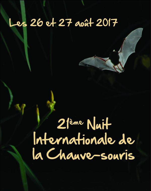 Affiche de la 21ème Nuit Internationale de la Chauve-souris