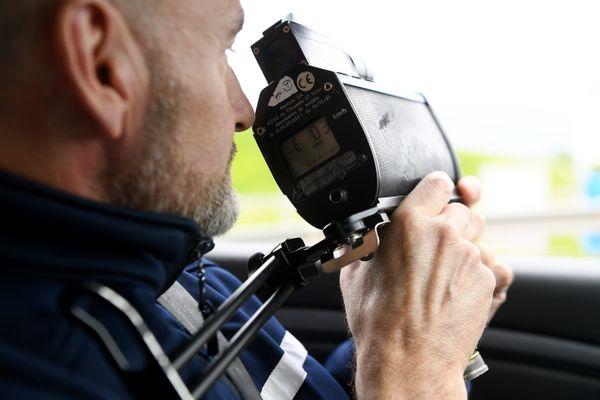 Un automobiliste a été contrôlé en grand excès de vitesse le 9 janvier en Isère. (Illustration)
