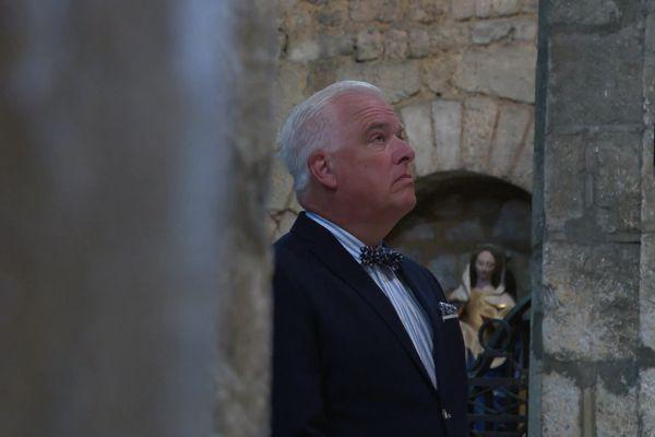 Moment de recueillement à Notre-Dame-la-Grande pour Frédérick Gersal