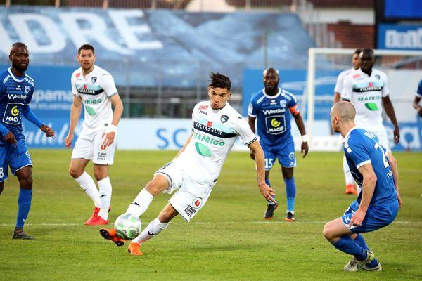 Face au Havre, les Niortais ont encaissé un but dès la 2ème minute.
