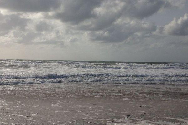Le gris sera la couleur dominante de ce samedi sur le littoral normand...