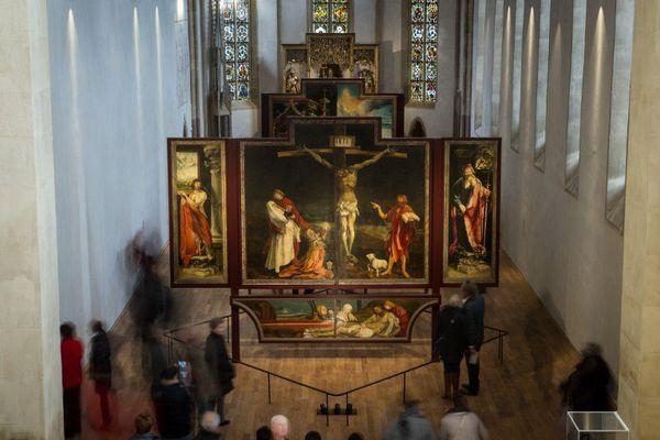 Le célèbre retable d'Issenheim a retrouvé le musée Unterlinden