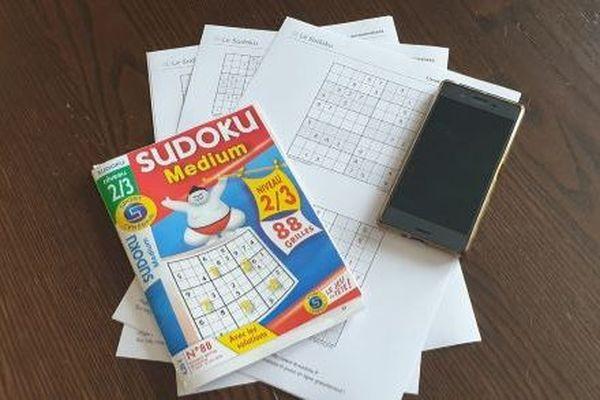 A la fin du confinement, la famille passe aux Sudoku Force 7.