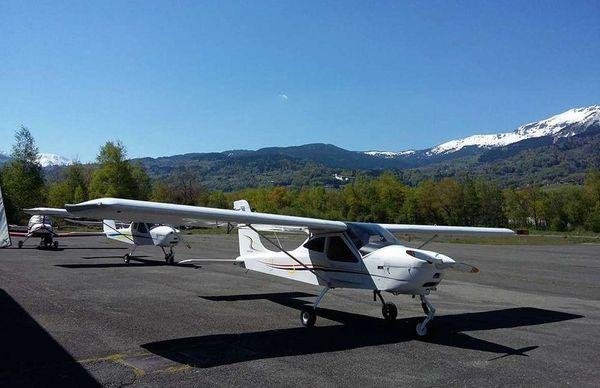 Aérodrome de Sallanches en Haute-Savoie