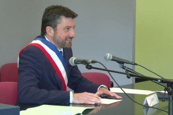 Julien Dubois, nouveau maire de Dax