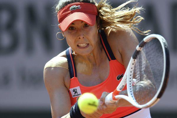 La niçoise Alizé Cornet, le 1er juin, à Roland Garros