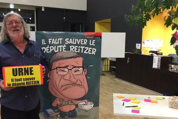 """Roger Siffer a lancé l'opération de """"kraut-funding"""" pour aider le député Reitzer à s'en sortir"""