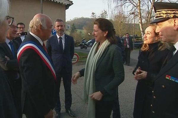18 février 2019-Arrivée d'Agnès Buzyn dans l'Eure