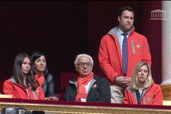 Xavier de la Gorce, le président de la SNSM en tribune à l'Assemblée Nationale, le 11 juin 12019