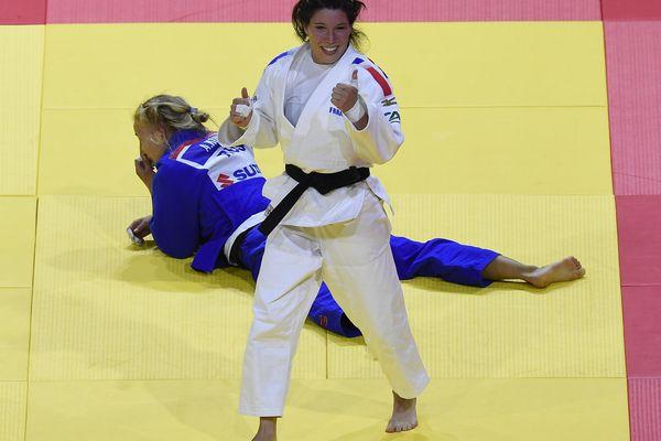 Hélène Receveaux lors des championnats du monde en Bulgarie en 2017. Photo d'illustration