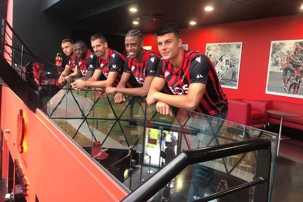 Présentation officielle des joueurs de la nouvelle saison pour l'OGC Nice se faisait ce jeudi 2 juillet.