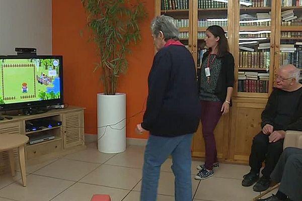 Saint-Gervais-sur-Mare (Hérault) - des jeux vidéo 2.0 pour les séniors - 2017.