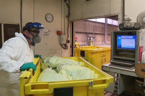Lutte contre la pandémie du Coronavirus dans le traitement des déchets hospitaliers
