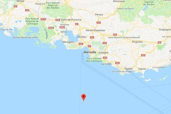 27/02/2019 - Un séisme de magnitude 3,5 a été enregistré dans la nuit de mardi à mercredi à 60 km au large de Marseille