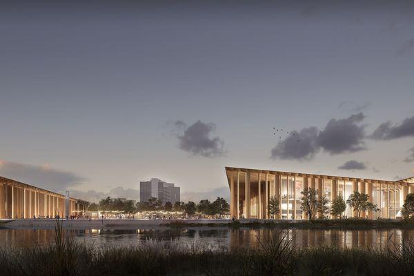 Projet du nouveau parc des expositions de Strasbourg