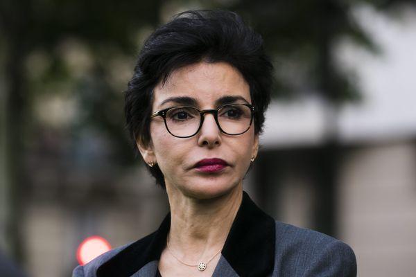 Rachida Dati, maire du 7e arrondissement et favorite pour obtenir l'investiture LR pour les élections municipales à Paris.