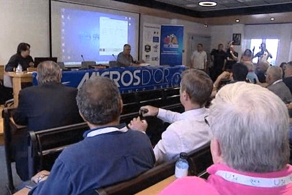 Le congrès de l'UJSF à Bastia, le 4 mai 2016.
