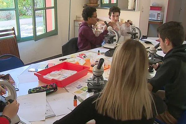 Nîmes - le micro-lycée Saint-Stanislas pour élèves atteints de phobie scolaire - 2018.