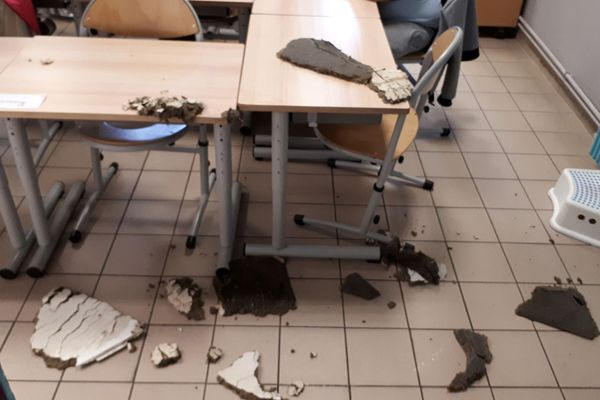 Délabrement des écoles à Marseille, un collectif interpelle les candidats aux municipales.