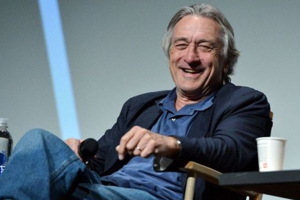 Robert de Niro à New-York en avril 2012