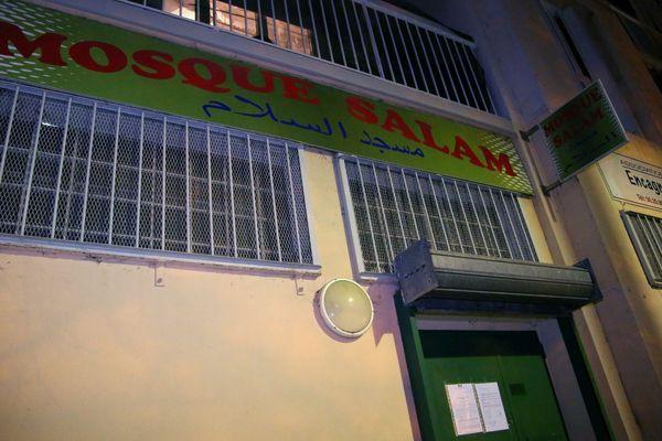 Aix-en-Provence : la mosquée Dar-es-Salam évacuée par la police mercredi 24 avril.