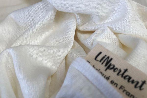 La fibre de lin tricotée proviendra notamment des champs normands