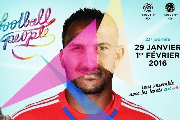 Du 29 janvier au 1er février, sur tous les terrains de Ligue 1 et de Ligue 2, les joueurs porteront des lacets arc-en-ciel pour montrer leur attachement à la diversité.