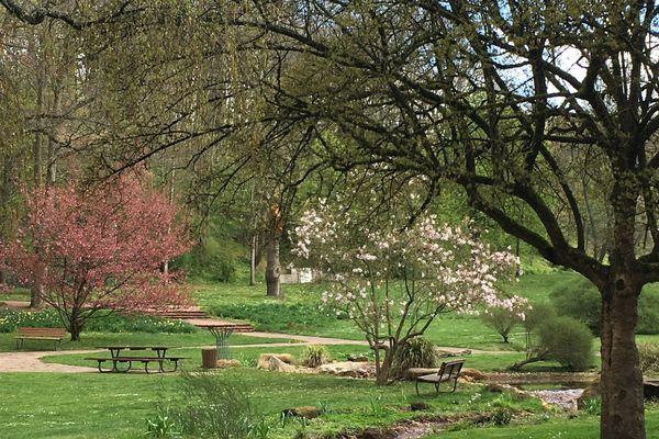 En famille, entre amis ou en solo, les cinquante hectares de pelouses et de fleurs du jardin franco-allemand de Sarrebruck ne vous promettent qu'un moment de quiétude.