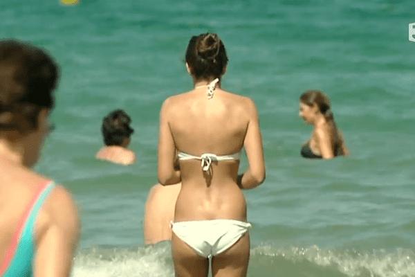 A Dinard, les estivants sont très nombreux sur les plages