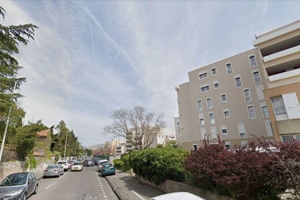 L'agression s'est produite rue Farinière dans le 9e arrondissement de Marseille.