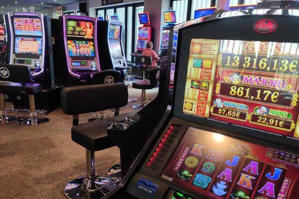 La salle des machines automatiques a rouvert dès le 3 juin, au Casino du Lac du Der.