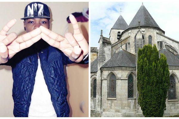 Vin2S est un rappeur de 23 ans originaire du Val-d'Auron à Bourges (Cher).