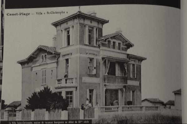 Située sur le front de mer à Canet-en-Roussillon, la villa a été détruite dans les années 70.