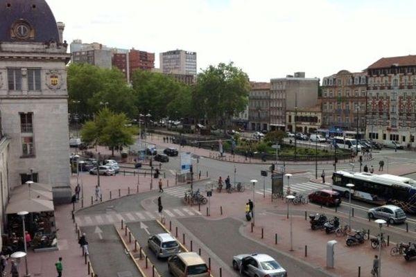 Le quartier Matabiau à Toulouse