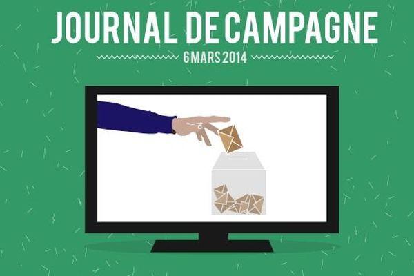 A l'occasion des élections municipales des dimanches 23 et 30 mars, France 3 Bourgogne vous propose un « journal de campagne » diffusé dans le JT de 19h, du lundi au vendredi.