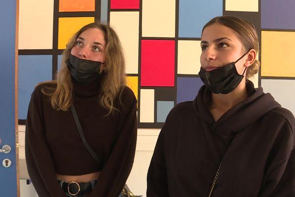 Morane et Laura sont en classe de seconde au Lycée Fesch.