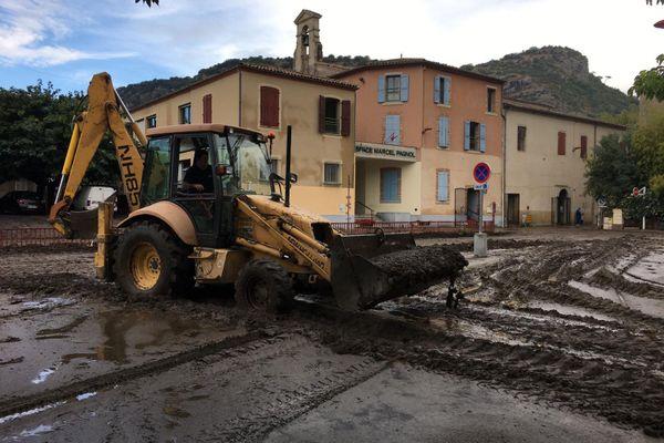 La commune d'Anduze, dans le Gard fait partie des plus touchées par les fortes pluie - 20 septembre 2020