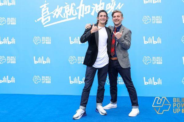 Quentin Albert (à gauche) et Benjamin Thomas forment le duo Xinshidandan.