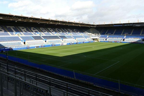 Le stade de la Meinau en 2020. Sa rénovation et son extension devraient coûter 100 millions d'euros et s'achever en 2025