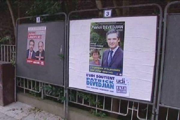 La campagne pour la législative partielle a commencé sur fond de déchirement à l'UMP.