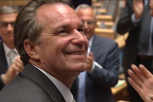 Renaud Muselier a été élu lundi président de la région Paca.