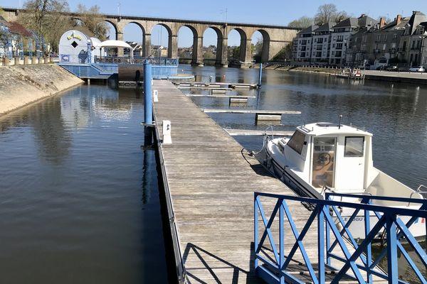 La halte fluviale de Laval