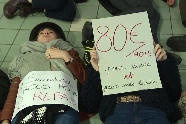 """Un """"Die In"""" organisé ce jeudi sur le campus de Villeneuve-d'Ascq."""