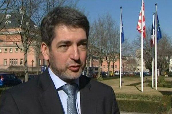 Jean Rottner, maire UMP de Mulhouse