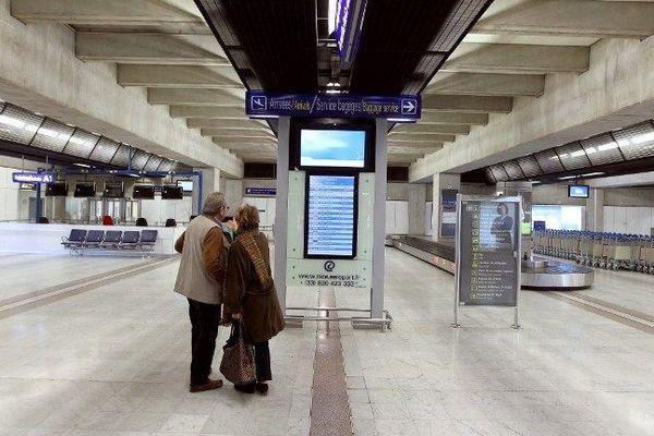 Aéroport de Nice: image d'archive