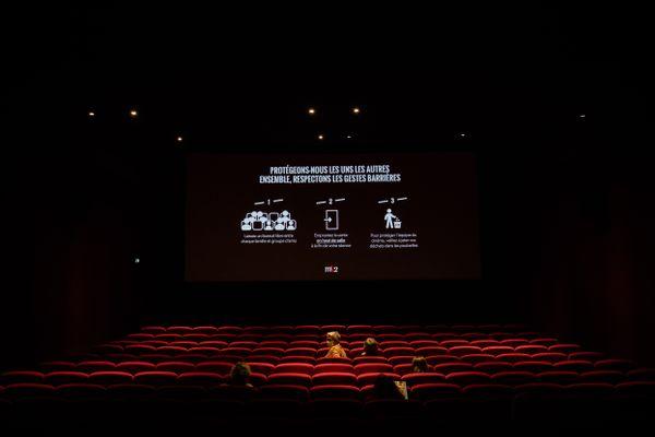 Les cinémas ne pourront accueillir que 35% de leur capacité.
