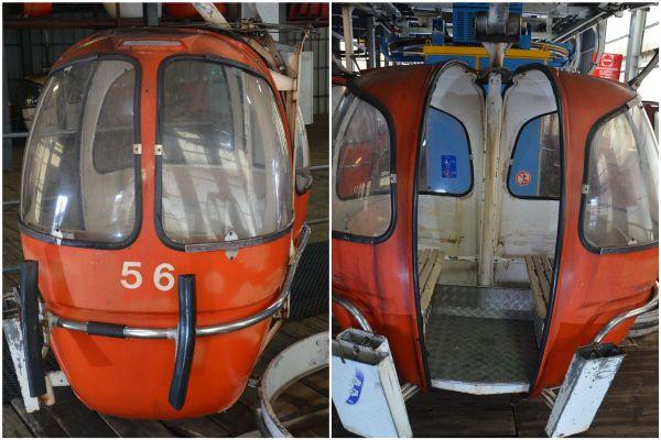 Aux enchères le prix de chaque cabine pourrait atteindre plusieurs milliers d'euros.