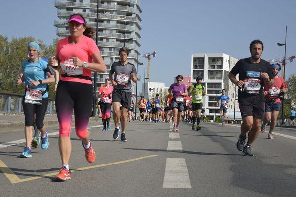Marathon de Nantes, le 22/04/2018