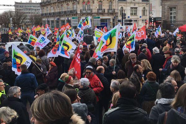 1650 personnes ont participé à la manifestation du 20 février à limoges