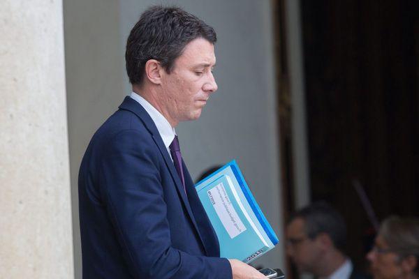 Benjamin Griveaux, secrétaire d'état auprès du ministre de l'économie et des finances